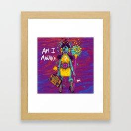 AMI AWAKE Framed Art Print