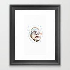BERNIE, BERNIE, BERNIE! Framed Art Print