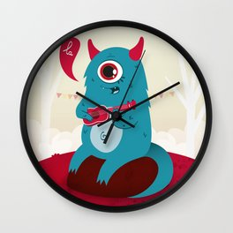 The singing Monster Wall Clock