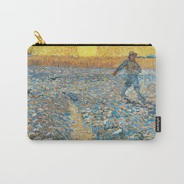 Van Gogh : The Sower (Sower with Setting Sun) Carry-All Pouch