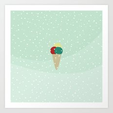 Ice cream dreams Art Print