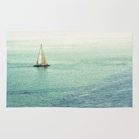 sailing Area & Throw Rugs featuring Sailing by Lawson Images
