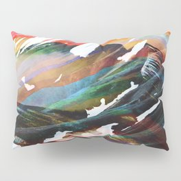 Abstract Mountains II Pillow Sham