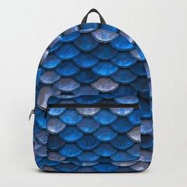 Mermaid Blues Scales Backpack
