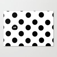 dots Canvas Prints featuring Dots by Arma