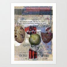 The Numbing of Atlas Art Print