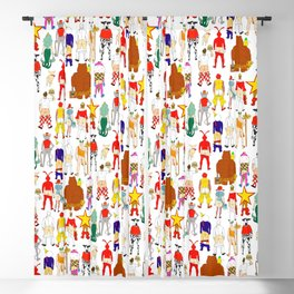 Fast Food Butts Blackout Curtain