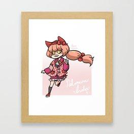 Kittyloid Framed Art Print