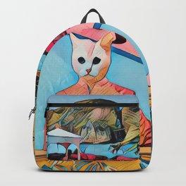Kitty pool Backpack