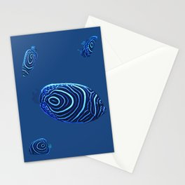 Bluee Fish Stationery Cards