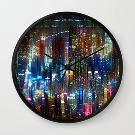 Acid Doppleganger Wall Clock