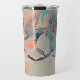 Only plateaus offer a place to rest. Travel Mug