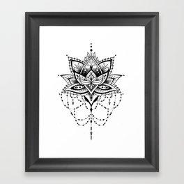 Mandala Roelie Framed Art Print