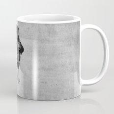 Pug (gentle pug) B&W version Mug