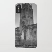 liverpool iPhone & iPod Cases featuring Liverpool Cathedral by Abi Booth
