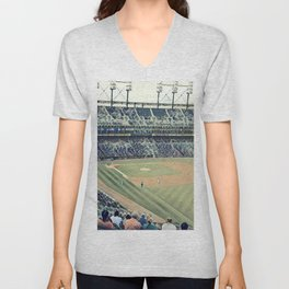 Take me out to the Ballgame! Unisex V-Neck