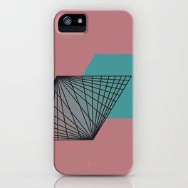 Triangular Grid - Sacred Geometry iPhone Case