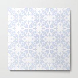 Pale blue gray no.21 Metal Print