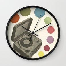 Pop Music Wall Clock