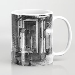 Train Station Platform Coffee Mug