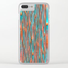Interplay Of Warm And Cool Clear iPhone Case