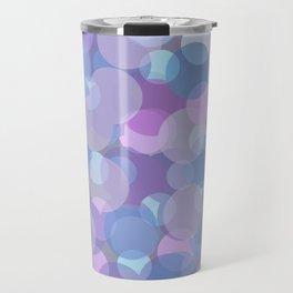 Pastel Pink and Blue Balls Travel Mug