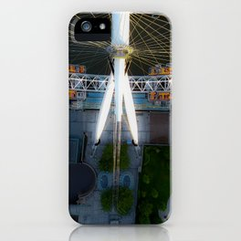 Above the London Eye iPhone Case