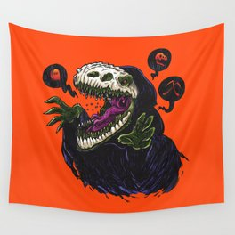 Grim Reapersaur Wall Tapestry