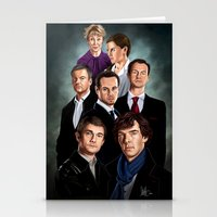 sherlock Stationery Cards featuring Sherlock by tillieke