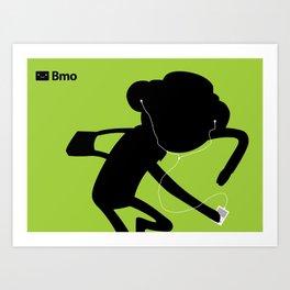 Bmo's Campaign x Party Pat. Art Print