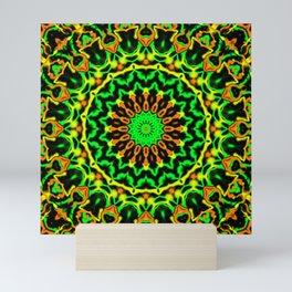 Citrus Mandala Mini Art Print