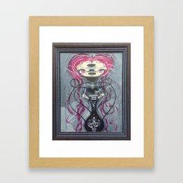 Twisted Lil HOOKAH NYMPH Framed Art Print