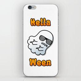 Hella Ween Halloween Ghost iPhone Skin