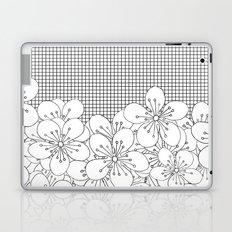 Cherry Blossom Grid - In Memory of Mackenzie Laptop & iPad Skin