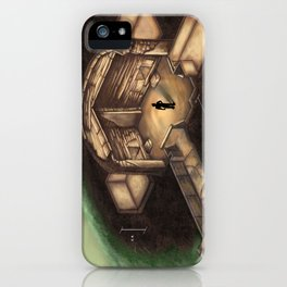 Maeshowe Tomb iPhone Case
