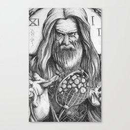 Father Time by Kate Morgan Canvas Print