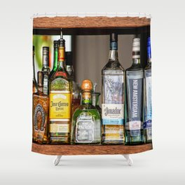 Last Call For Alcohol Shower Curtain