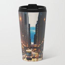 the streets of Chicago ... Travel Mug
