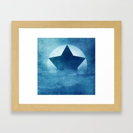 Star Composition III Framed Art Print