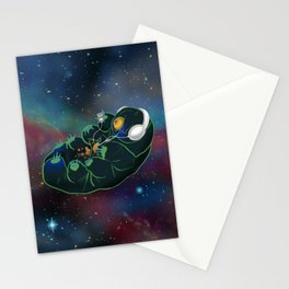 Space Tardigrade Stationery Cards