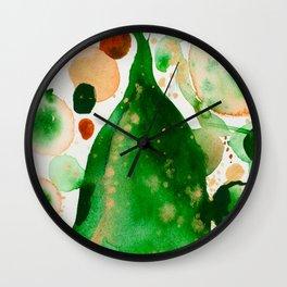 Green Study Wall Clock