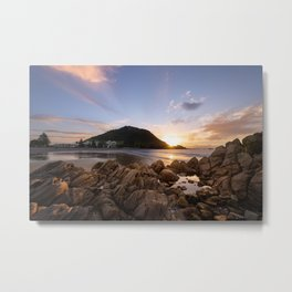 'Mauao' Mount Maunganui Metal Print