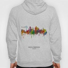 Middlesbrough England Skyline Hoody