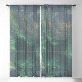 Unknown Depths Sheer Curtain