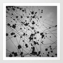 Plato / Octahedron = Air Art Print