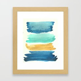 Late Summer Palette Framed Art Print