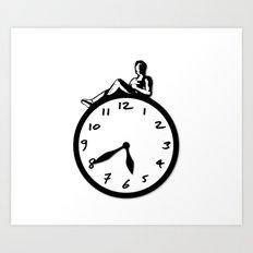 Overtime Art Print