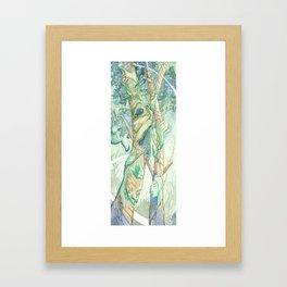 The Bumi Tree Sprites Framed Art Print