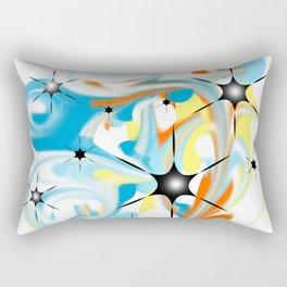 A storm of colors Rectangular Pillow