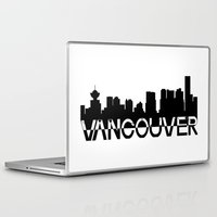 vancouver Laptop & iPad Skins featuring Vancouver  by Allison Kiloh